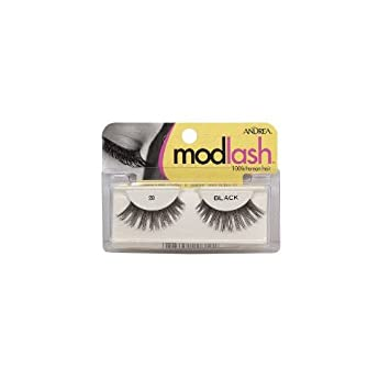 13f24911a87 Amazon.com: Andrea Mod Lash Strip Lashes 28 Black (Pack of 4 Pairs ...