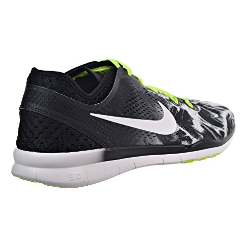 Nike Womens Gratis 5.0 Tr Fit 5 Prt Trainingsschoen Dames Ons Zwart / Wit-volt