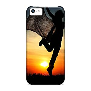 Excellent Design Cheerful Sunset Cases Covers For Iphone 5c