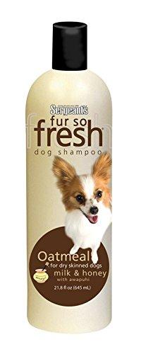 sergeants-03805-18-oz-fur-so-freshr-oatmeal-dog-shampoo