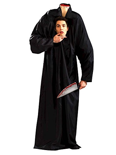Forum Novelties Adult Headless Man Costume Standard Black -