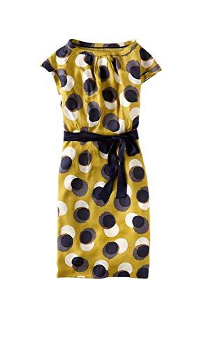 Boden Taille De Robe De Soie Viscose Putney Femmes Nous 18 L