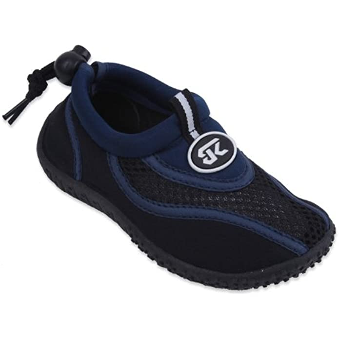 starbay New Toddler's Blue & Black Athletic Water Shoes Aqua Socks