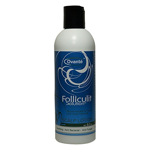 Treatment of Severe and Chronic Folliculitis - Leave in Hair and Scalp Lotion 8.0 Oz - Healing Treatment Neem
