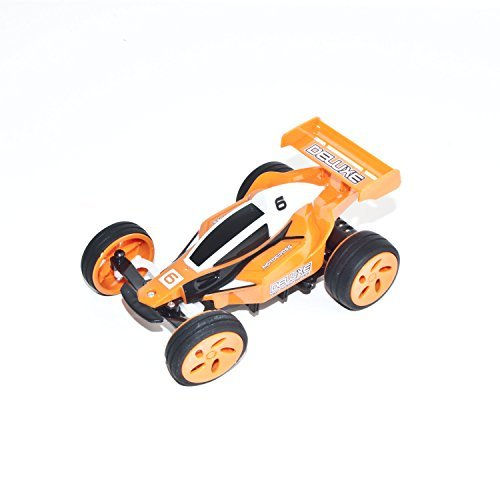 Electric Power Off Road RC Buggy Car, Orange 1/32 Scale ()