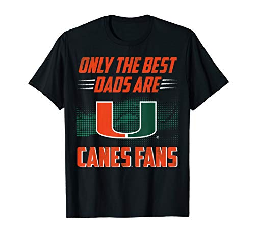 Miami Hurricanes Best Dad Ever T-Shirt - Apparel (Best Day Ever Miami)