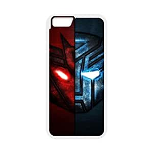 iphone6 plus 5.5 inch White Transformers phone case Christmas Gifts&Gift Attractive Phone Case HRN5C322332