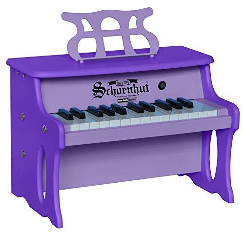 Schoenhut 25 Key 2 Toned Table Top Piano, Purple, One Size