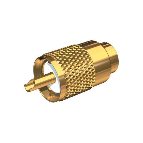 Shakespeare Center Pin - Shakespeare Gold Plated PL-259 Connector