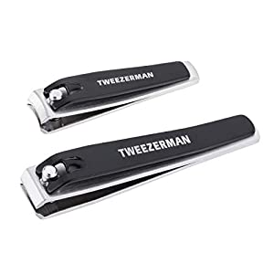 Tweezerman Stainless Steel Nail Clipper Set Model No. 4015-R