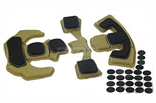 H World Shopping Tactical FMA Outdoor Combat EX Helmet Internal Memory Foam Pad Protective Mat