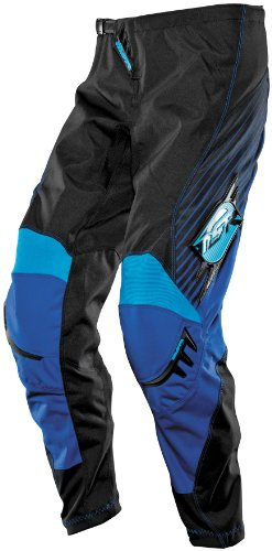 MSR Racing Axxis Men's Motocross Motorcycle Pants - Black/Blue/Cyan / Size (Msr Mens Dirt Motorcycle)