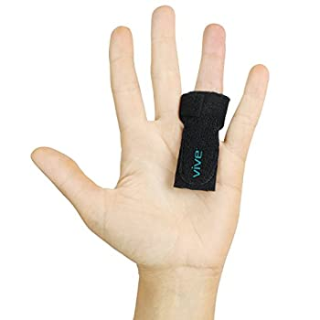 Trigger Finger Splint by Vive - Support Brace for Straightening Curved, Bent, Locked & Stenosing Tenosynovitis Hands - Tendon Release & Pain Relief