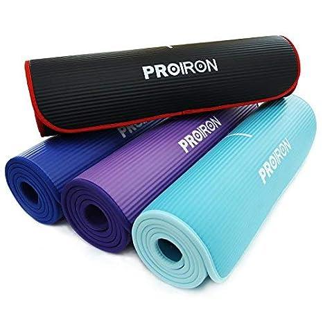 PROIRON Colchón para Yoga NBR Colchoneta Antideslizante ...