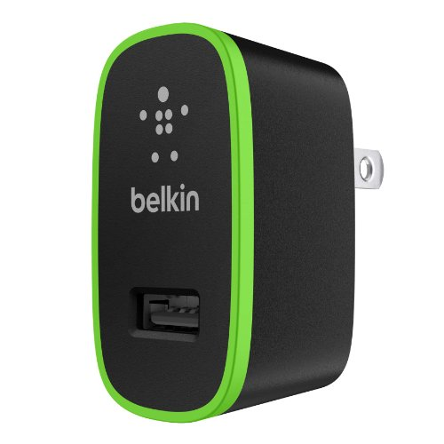Belkin Apple Certified MIXIT Home Charger (2.1 Amp / 10 Watt), Black