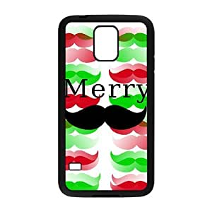 DIY Protective Snap-on Hard Back Case Cover for SamSung Galaxy S5 I9600 with Mustache