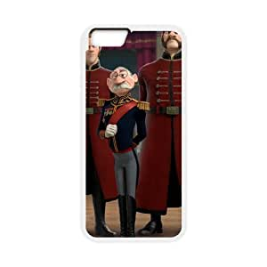 iPhone 6 Plus 5.5 Inch Cell Phone Case White Disney Frozen Character Duke of Weselton 002 KQ3455762