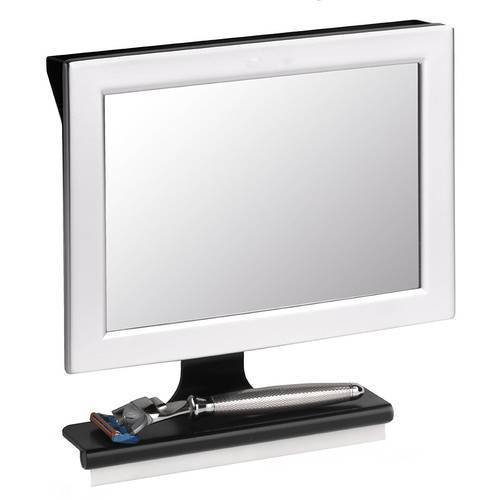 Asher Amada Home Fogless Shower Mirror W/Squeegee Guaranteed Not to Fog Designed Not to Fall by Asher Amada