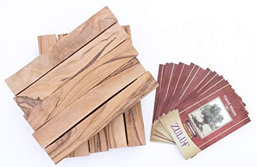 (holyland Olive Wood Pens Blanks turning wooden pens 3/4
