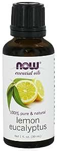 NOW Lemon & Eucalyptus Oil, 1-Ounce