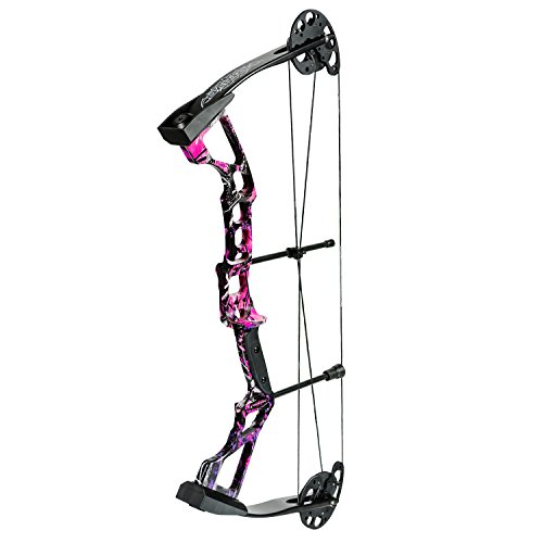 Darton 20-30 lb. Right Hand Recruit Youth Compound Bow Package, Muddy Girl For Sale