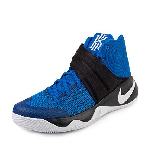 Nike Herren Kyrie 2 Basketball Turnschuhe, Blau / Weiß / Schwarz (Hyper Cobalt / Weiß-Schwarz), 44 1/2 EU
