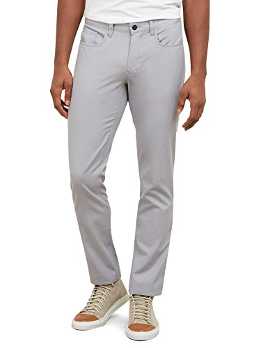Kenneth Cole New York Men's Slim Five Pocket Pant, Cement...