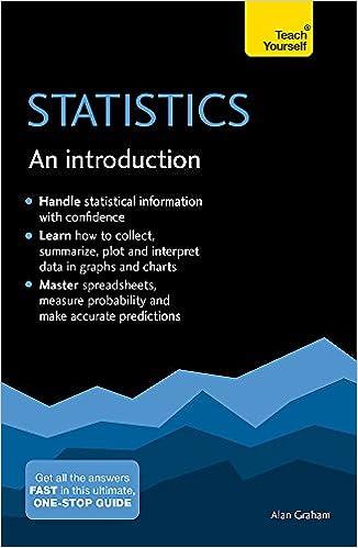 An Introduction Statistics