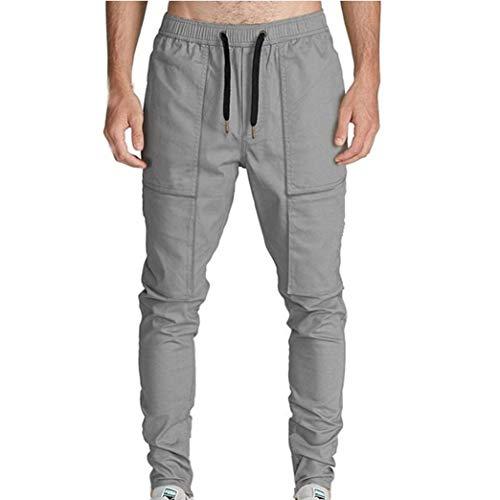 Da Uomo Unita Grau lannister Cargo Coulisse Tinta Ragazzo Con Pantaloni Lavoro Tasche In Qk p1Rqxnatw1