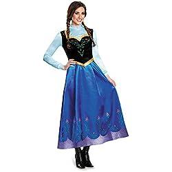 Disguise Women's Anna Traveling Prestige Adult Costume, Multi, Medium