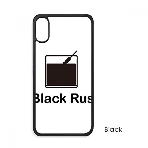 - Black Russian Cocktail for iPhone XS Max Cases Phonecase Apple Cover Case Gift