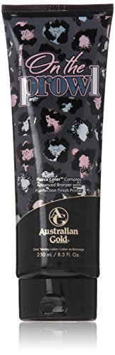 Australian Gold On the Prowl Advanced Bronzer Tanning Bed Lotion, 8.5 Fluid (Australian Gold Tanning Bed)