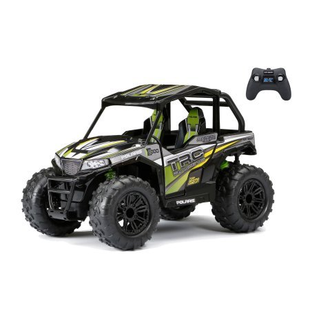 Polaris Kids Atv (New Bright 1:14 Radio Control Polaris ATV - Green)