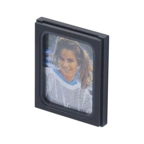 Cadre photo HR pour la voiture - cadre photo 10324115 - fixation autocollante 5x4 cm Made in Germany noir