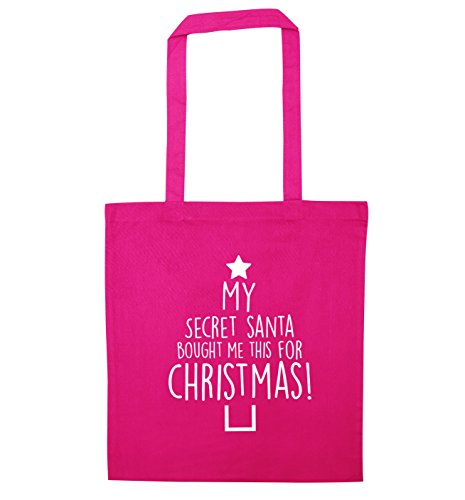 me for secret christmas tote My Pink bag this santa bought vRnqf