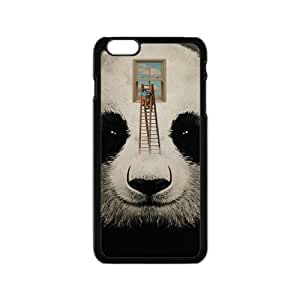 Canting_Good Cute Panda Custom Case Shell Cover for iPhone 5 5S TPU (Laser Technology) by lolosakes by lolosakes