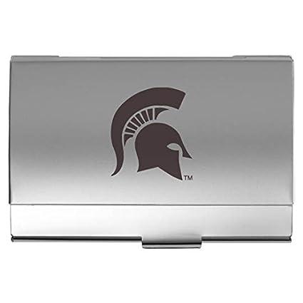 Amazon michigan state university pocket business card holder michigan state university pocket business card holder colourmoves