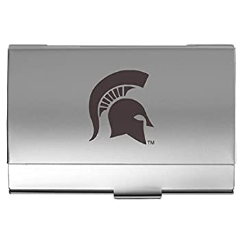 Amazon michigan state university pocket business card holder michigan state university pocket business card holder colourmoves