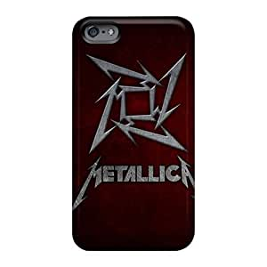 Excellent Cell-phone Hard Cover For Iphone 6plus (tlw7532XXuV) Custom Nice Metallica Band Series