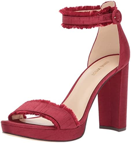 c07669c44126 Nine West Women s DARANITA Fabric Heeled Sandal