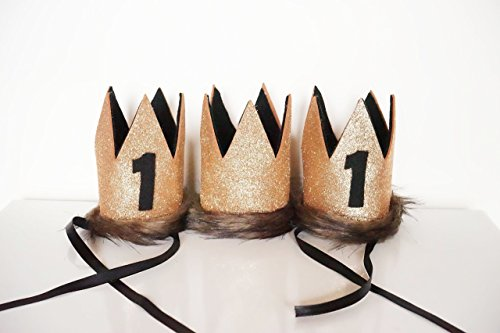 Where The Wild Things Are Bronze Birthday Party Hat Crown (Handmade Lion Mask)