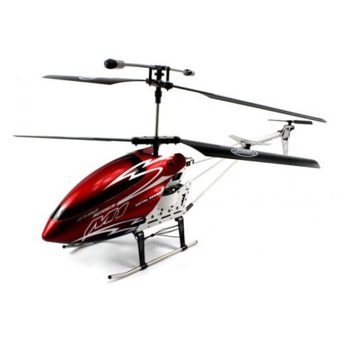 30″ Skytech M1 Hurricane Radio Control 3-Channel Rtf Gyro Led Rc Helicopter