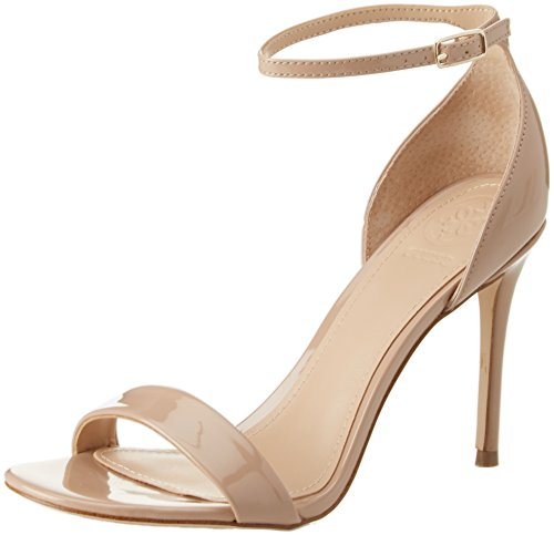 Guess WoMen Footwear Dress Sandal Ankle Strap Heels Beige (Medium Natural)
