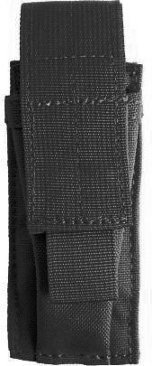 BLACKHAWK! Single Pistol Mag Pouch with Speed Clips, Black