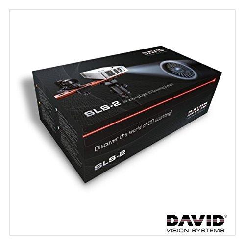 DAVID SLS-2 Scanner 3D, Blanche/Bleu/Rouge/Verte