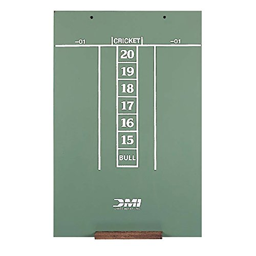 DMI Dart Scoreboard - Chalkboard for Cricket & 01 - Cricket Darts Scoring