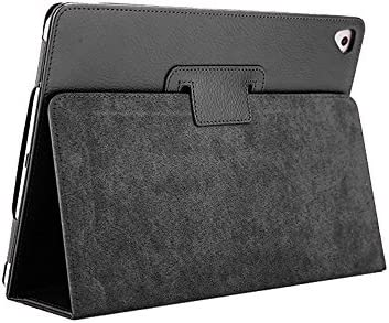 iPad Air 2 Case, 5th 6th Generation 9.7 Inch 2017 2018 Cover with Pencil Holder,FANSONG Stand Litchi Leather Slim Magnetic Smart Covers [Sleep/Wake up] for Apple iPad Air 1 2nd /Pro 9.7″ 2016,Black