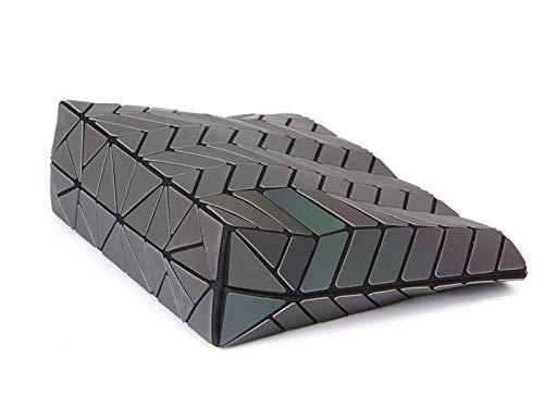 Bag Lattice Women Geometric Handbag Girls Purse PU Leather for Magibag Shoulder Crossbody Diamond Chain YSwPTT