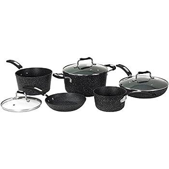 Amazon Com Starfrit Srft060319 The Rock 10 Piece Cookware