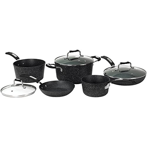 Starfrit 030930-001-0000 030930-001 Cookware Set, Dark Gray